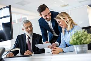 Positive culture within sales team because of the guidance of a sales culture consultant
