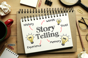 storytelling is a powerful tool for sales team