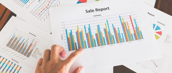 Financial graphs and charts. Sales management consultants can provide data analytics tools and training modules, etc