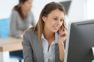 women on a sales call after going through sales training