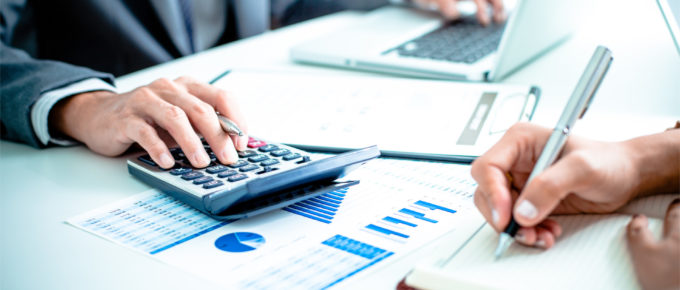consultant is making calculations on the sales team operations revenue which is one of the consulting service