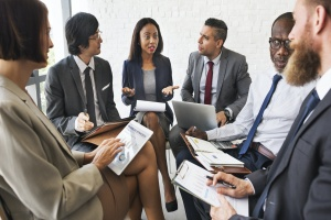 consultant telling others how to build a sales team from the ground up
