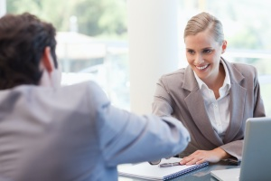 meeting with a Sales Program representative to improve sales